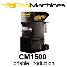 A portable machine with enough power to make the small contractor efficient! title=CM1500: Where Portability and Production Matter!