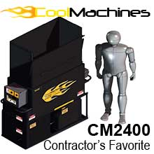 With output that completes multiple jobs day in and day out! title=CM2400: The Contractor's Favorite!