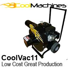 Perfect entry-level machine without sacrificing production. title=CoolVac 11