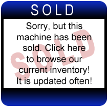 Used CM2400 Insulation Machine (Factory-certified warrantied)