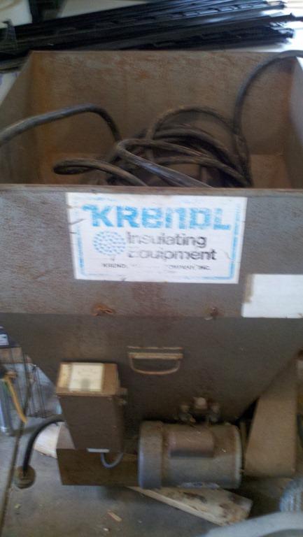 Through Blower Used Krendl Cellulose Insulation Machine