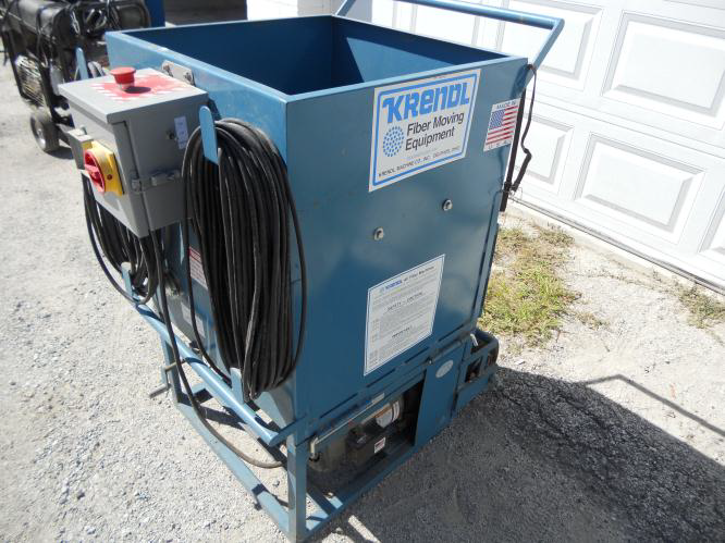 Used Krendl Insulation Blowers 2000 500 Vacuum And Wall