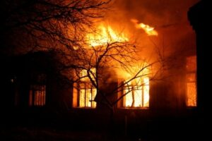 Fireblocking stops fire drafting