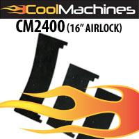 "CM2400 16"" Heavy Duty Airlock Seals"