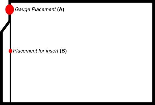 airlock-gauge-placement