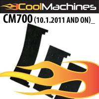 "CM700 10"" Heavy Duty Airlock Seals (Built after October 1, 2011)"