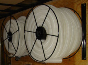 Hose Reels For Insulation Blowing Machines And Insulation