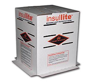 "Insullite Recessed Light Cover Vented, 10"" X10""x12"" 25 in pack"