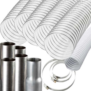 Economy Vacuum Hose Package 6 in to 4 in