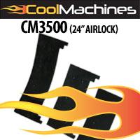 """cm3500 24"""" airlock seals"""