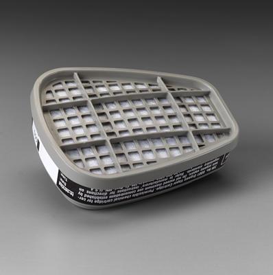 3M 6001 Half Face Respirator Organic Vapor Cartridge