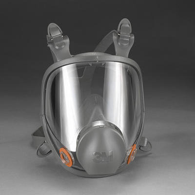 3M Full-Mask Facepiece, Medium