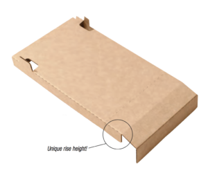 Attic baffle cardboard insulation