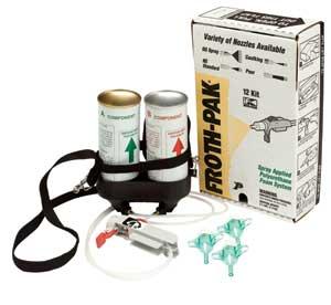 PU Foam, 2-Comp, Froth-Pak, 12 bd ft (1.75 PCF)