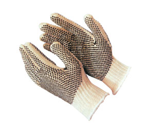 Gloves, FingerNails - double dot, Large
