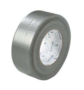 "Tape, Black Duct 1.87"" x 60 yd, 24 rl/cs"