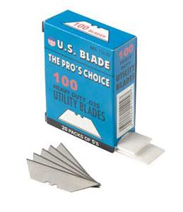 Standard Utility Blade, 100/box