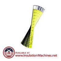 Attic Rulers R-Value Insulation Depth