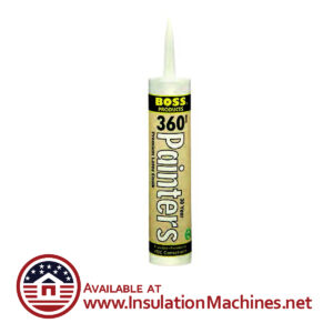 Painters Caulk Silicone Boss 360