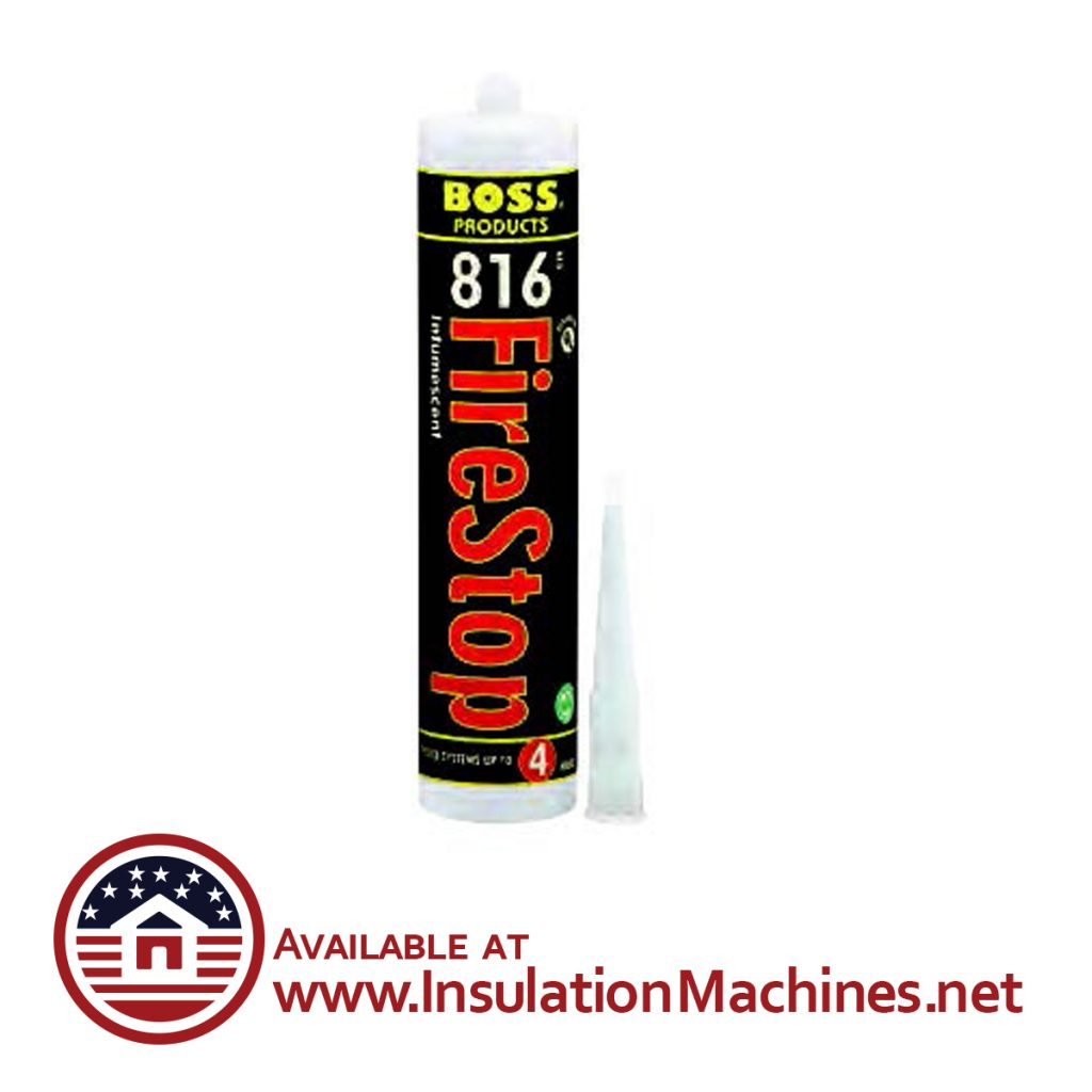 Boss 816, Intumesecent Firestop Sealant