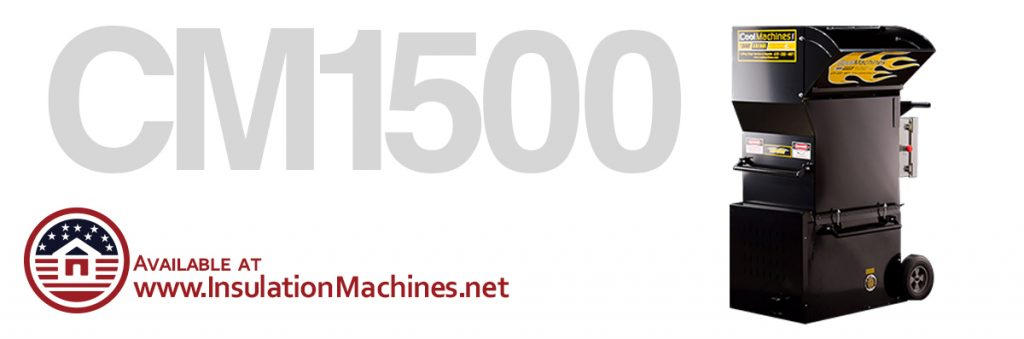 CM 1500 Portable Attic Blowers