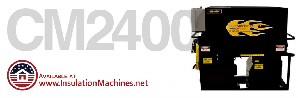 CM 2400 Insulation Blowers