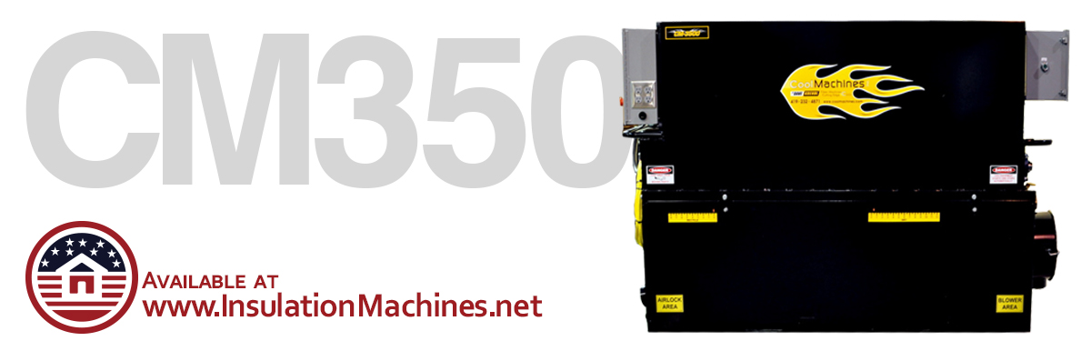 CM 3500 Attic and Wall Spray Insulation Machine