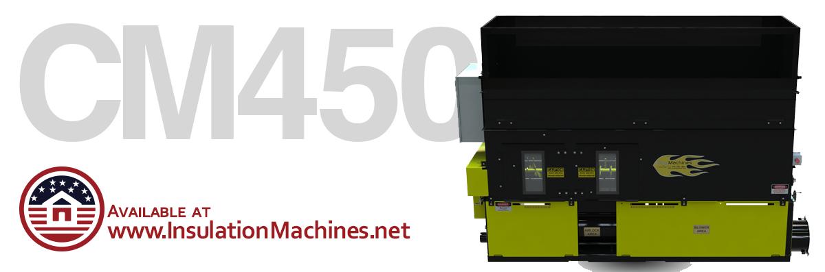 CM 4500 Insulation Blower
