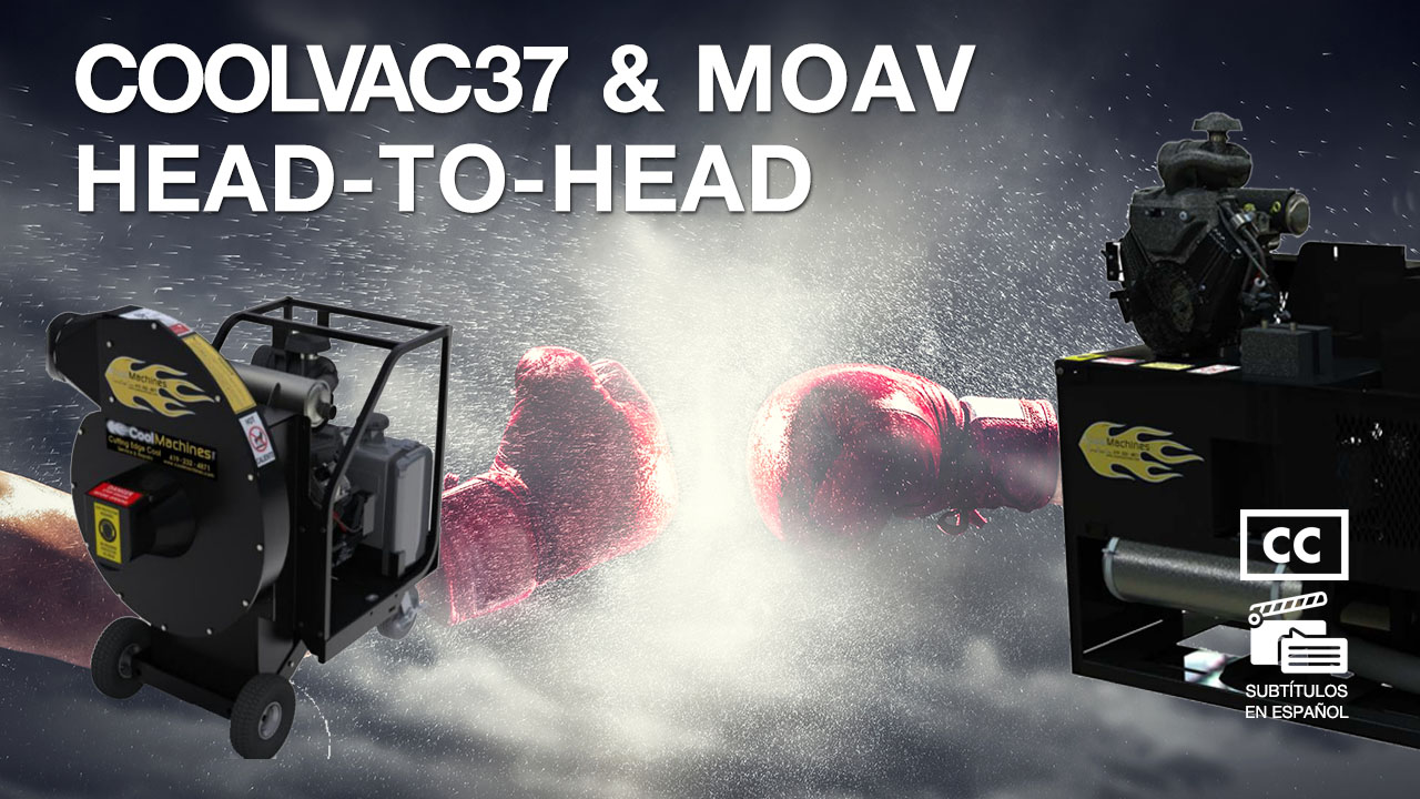 Insulation Vacuum Production Comparison: CoolVac37 & MOAV